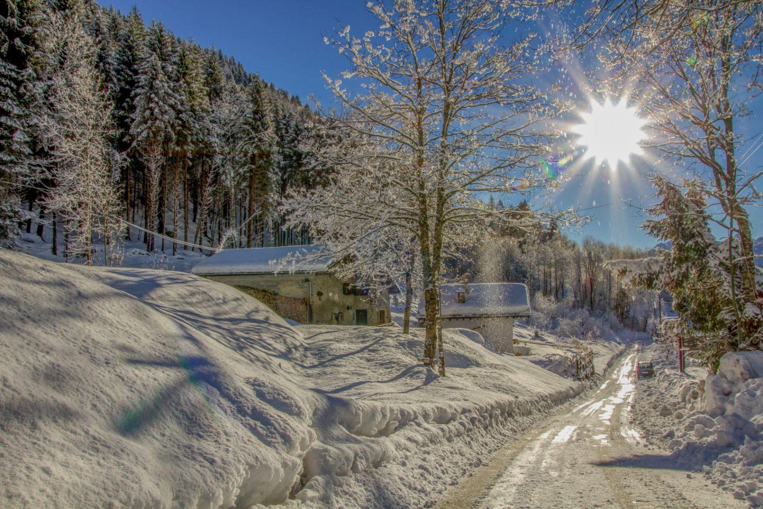 Val di Breguzzo in inverno