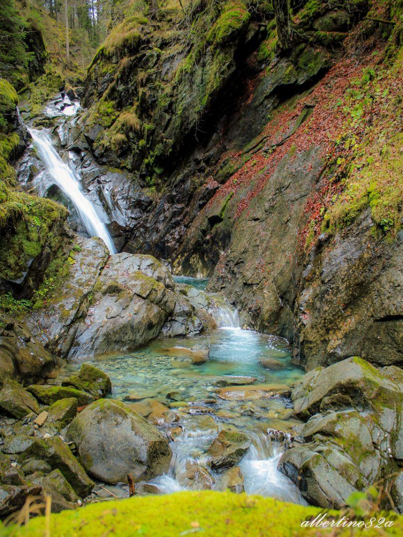 cascata sopra Breg Adventure park
